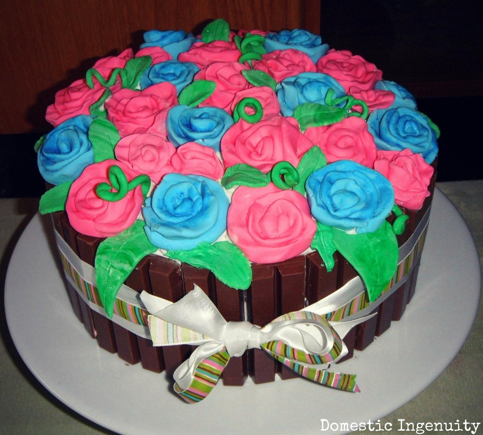 Cake Design For Mother In Law : kit kat cake