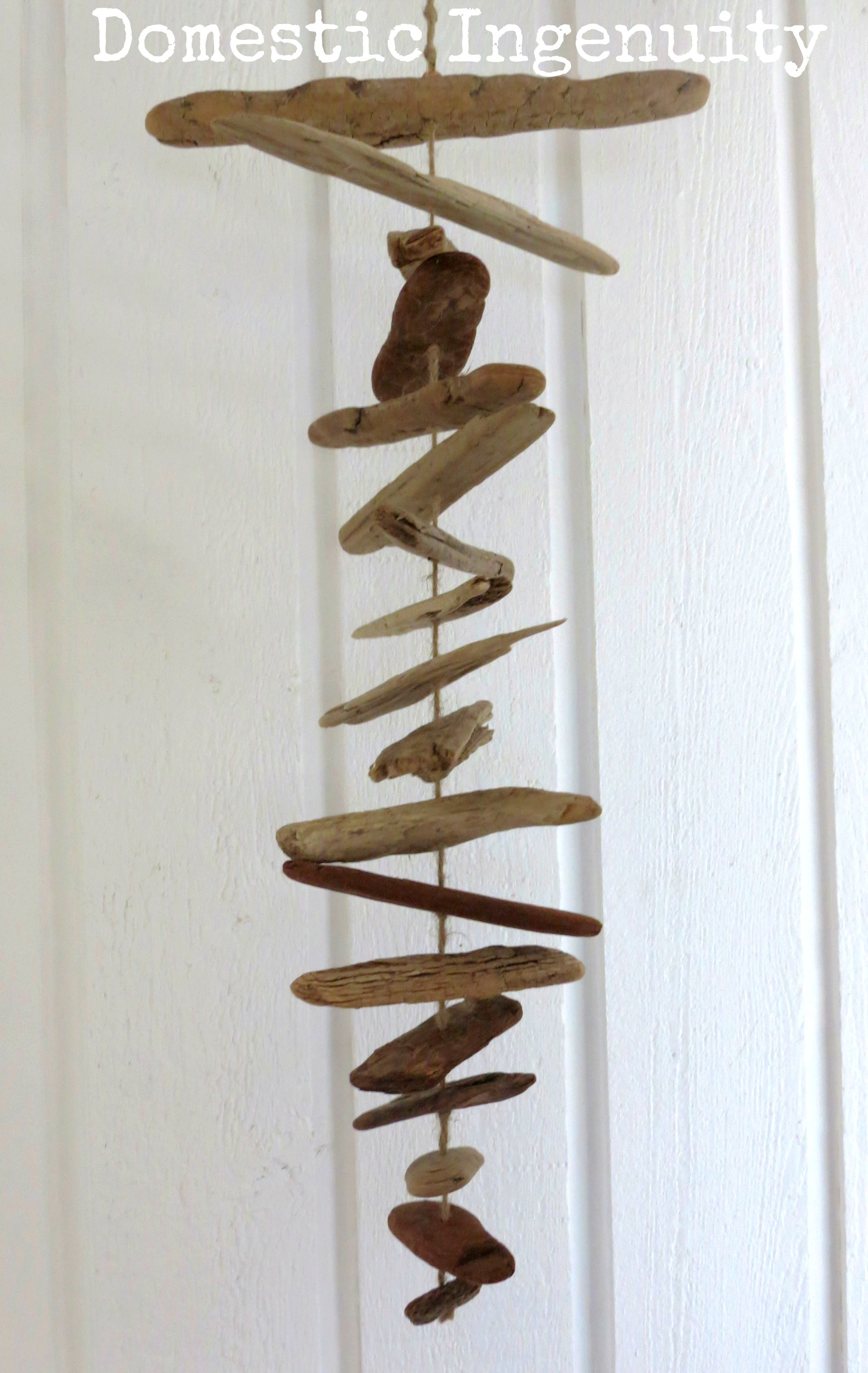 Diy driftwood mobile for How to make driftwood crafts