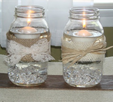 jar decoration ideas.htm mason jar candle  mason jar candle