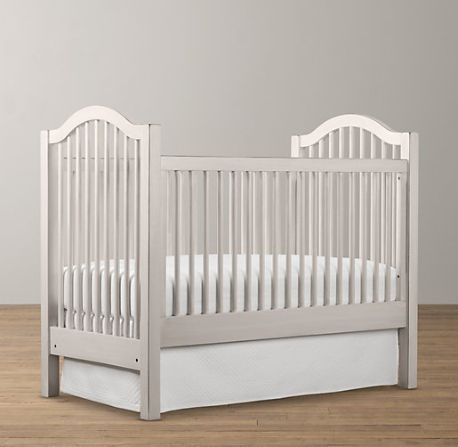 but me pay over 140 for a crib skirt bahaha plus i needed an adjustable crib skirt if i were to lower the mattress a regular storebought crib skirt