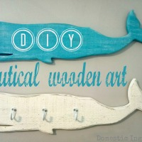 DIY Nautical Wooden Art