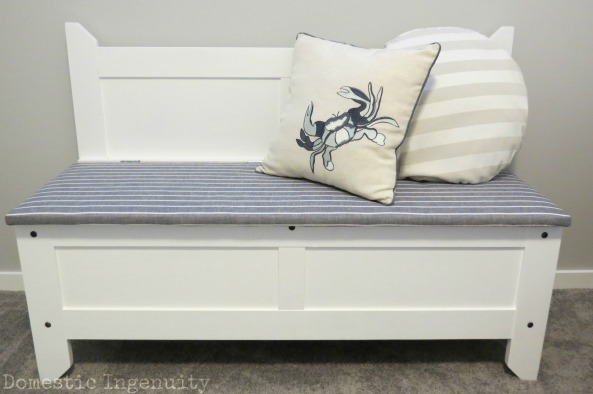 How to Make a Toy Box Bench Toy Box Bench Diy