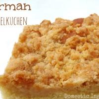 German Streuselkuchen