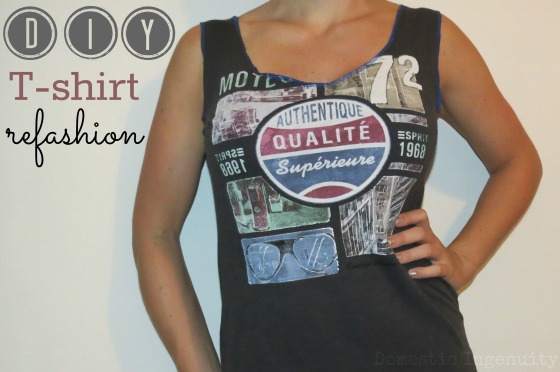 Diy T-Shirt Refashion