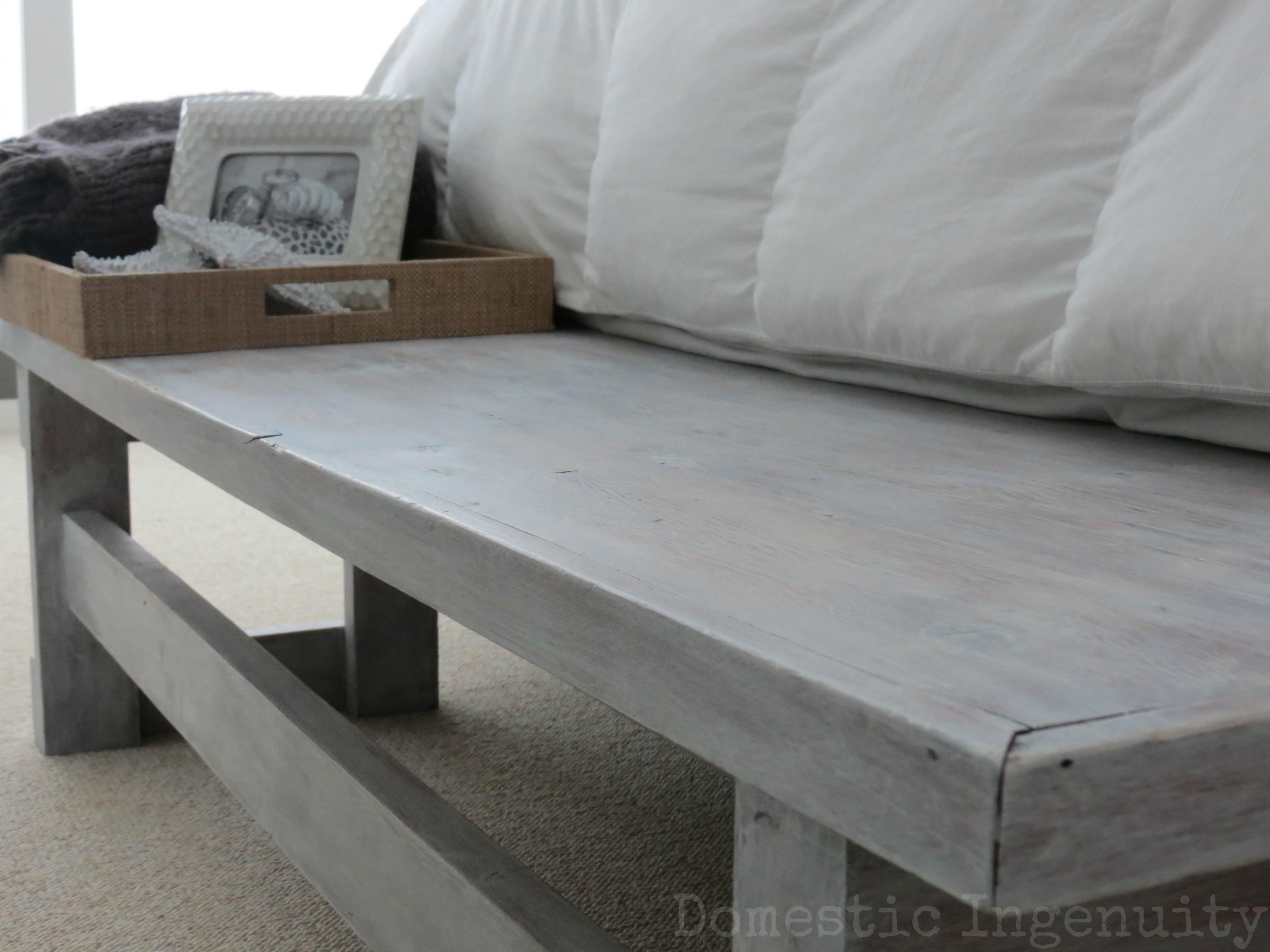 DIY Whitewashed Furniture
